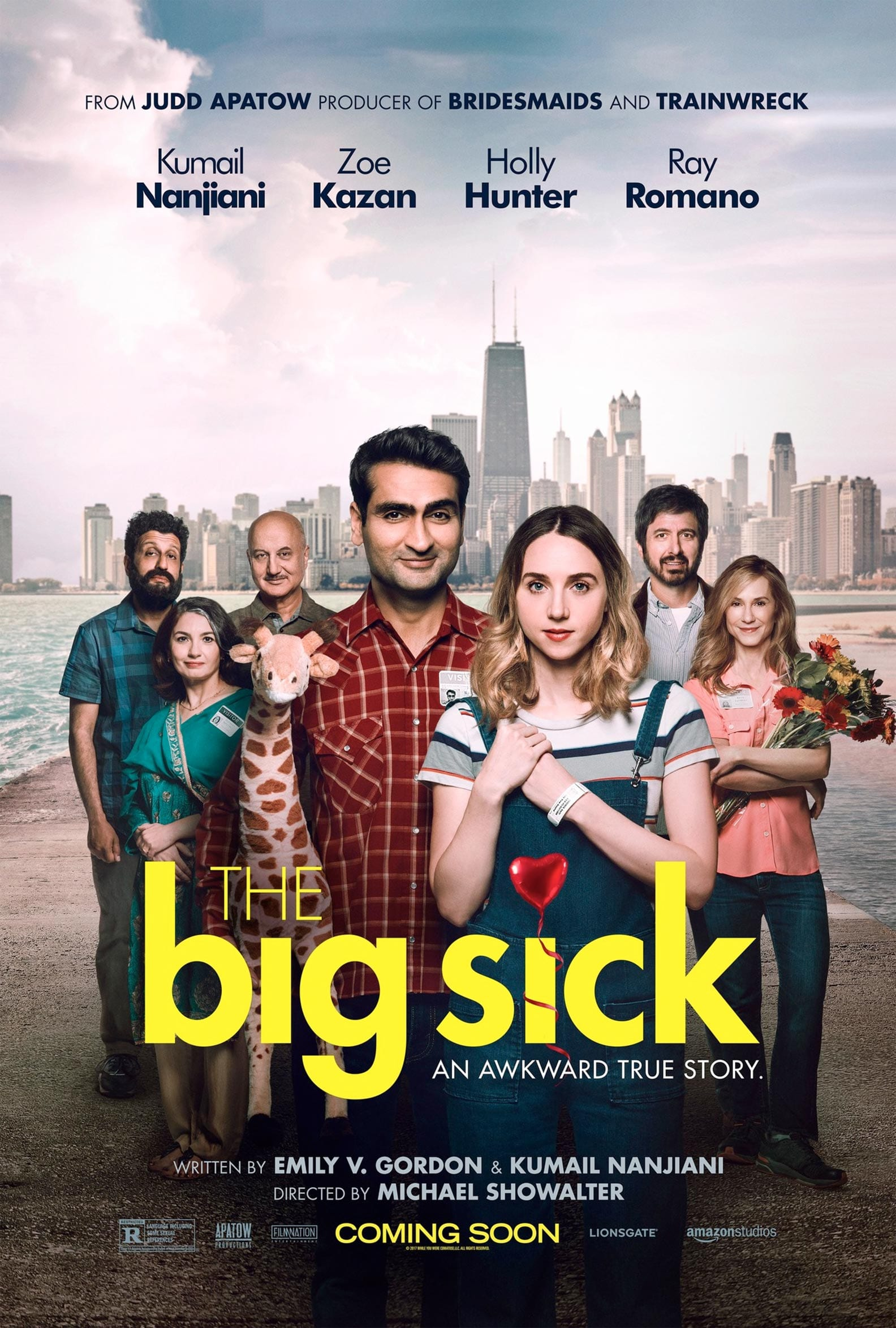 Amazon Studios debuts the trailer for romantic comedy 'The Big Sick' from Michael Showalter, set for a limited theatrical release this June.