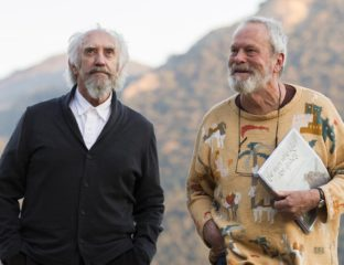 We never thought it would happen, but it did. Principal photography just wrapped on the drawn-out Terry Gilliam project, 'The Man Who Killed Don Quixote'.