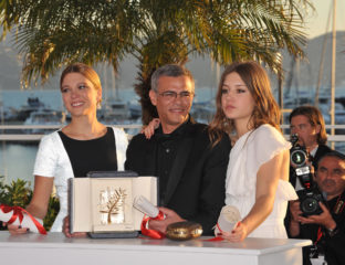 Green is the color for Abdellatif Kechiche, currently hocking his 2013 Palme d'Or to fund his new project, 'Mektoub, My Love'.