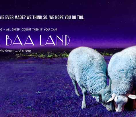 In our fast-paced world, it can be hard to find a moment for peace and reflection. But that's exactly why filmmakers have created 'Baa Baa Land'.