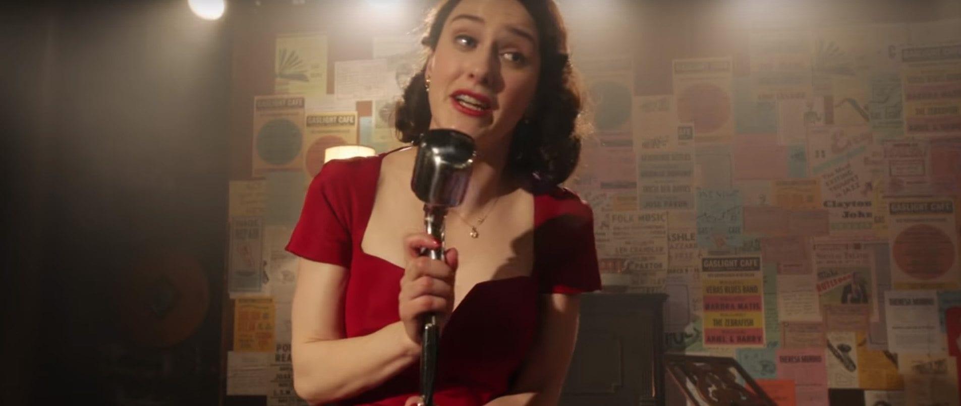 The Marvelous Mrs Maisel Starring Rachel Brosnahan