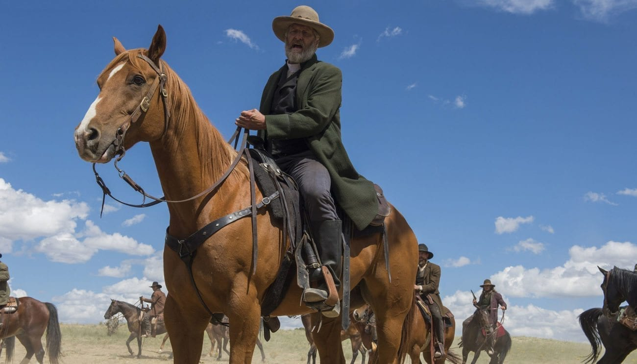 Jeff Daniels plays a classic villain in Netflix's Western romp 'Godless'. But is it a bingeworthy series or is it all a bit forgettable?