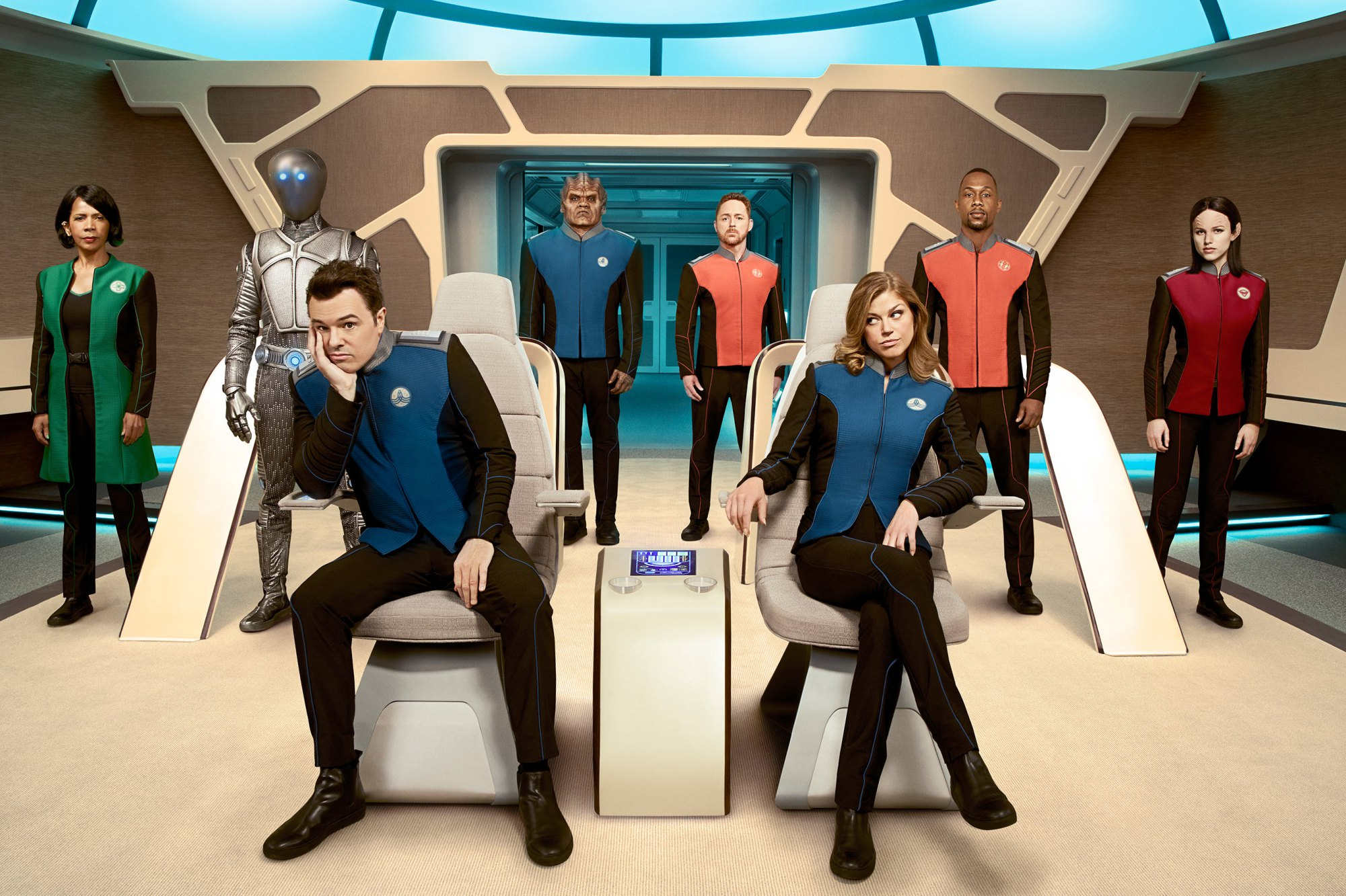 "Seth MacFarlane's sci-fi dramedy 'The Orville' has been renewed for a second season by Fox, with the network claiming it struck a ""powerful chord""."