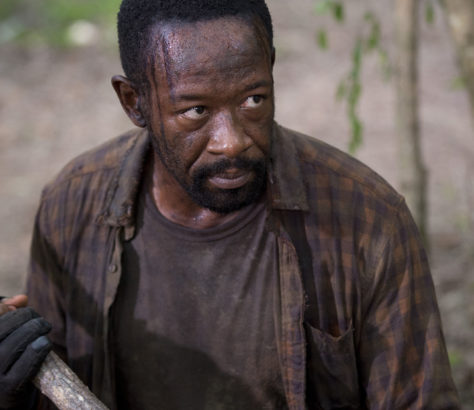 Morgan Jones, played by Lennie James, is due to leave 'The Walking Dead' and crossover to spin-off series 'Fear the Walking Dead'.