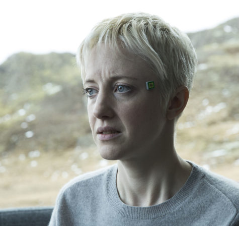 "An unnerving story, 'Black Mirror' S4E1 ""Crocodile"" puts Andrea Riseborough at the center of a tale that weaves through time and memory."