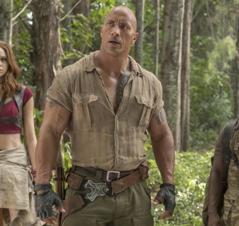 "Sony's 'Jumanji: Welcome to the Jungle', with Dwayne ""The Rock"" Johnson in the lead, is headed for a $45 million opening when it debuts on December 20."