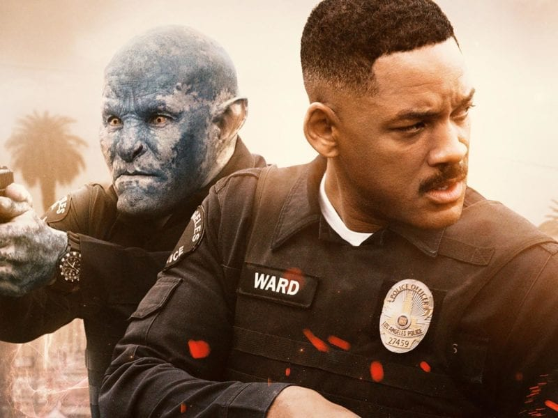 """Netflix's $90 million foray into blockbuster filmmaking 'Bright', with Will Smith in the lead, has been dubbed a """"colossal waste of time"""" by critics."""