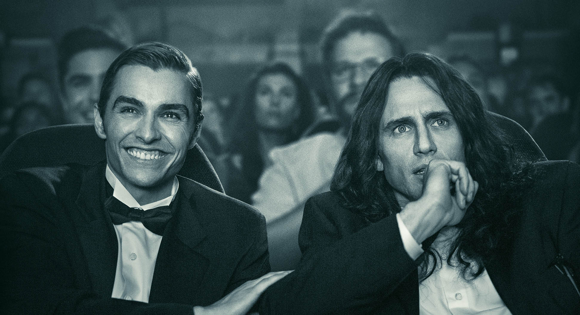 "'The Disaster Artist' is a laugh riot, following the somehow-true story behind the making of Tommy Wiseau's classic ""worst movie ever made""."