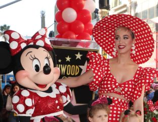 Disney's main gal Minnie Mouse finally received a star on the Hollywood Walk of Fame in celebration of her 90th Anniversary this week. To mark the occasion (and throw a little shade), pop singer Katy Perry gave a speech in full polka-dot getup highlighting the forty-year gap between Minnie and Mickey's honor. Head over to Variety for the