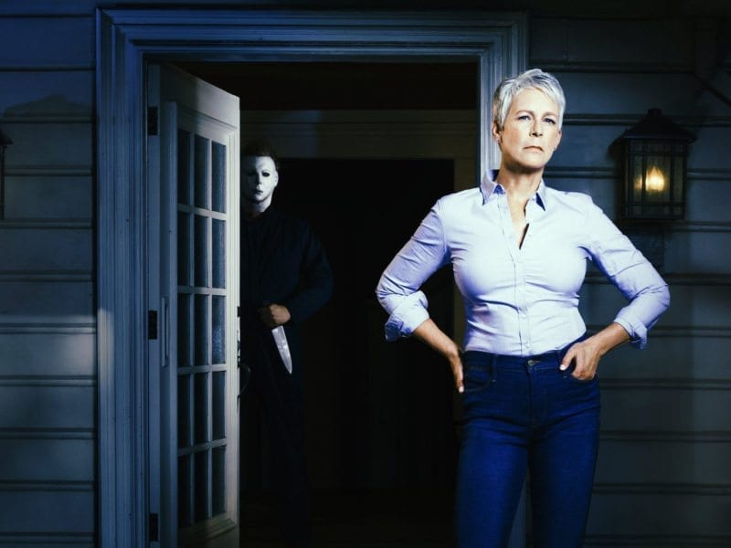 """The one… The only… The classic… The first glimpse of Michael Myers, aka """"The Shape"""", in Blumhouse's 'Halloween' has arrived. The internet is going crazy, but have you had a gander yet? Here's everything you need to know about the forthcoming revival of the beloved horror franchise."""