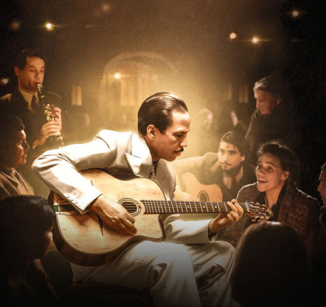 Directed and written by Etienne Comar, 'Django' tells the story of famous guitarist and composer, Django Reinhardt, and his flight from German-occupied Paris in 1943.