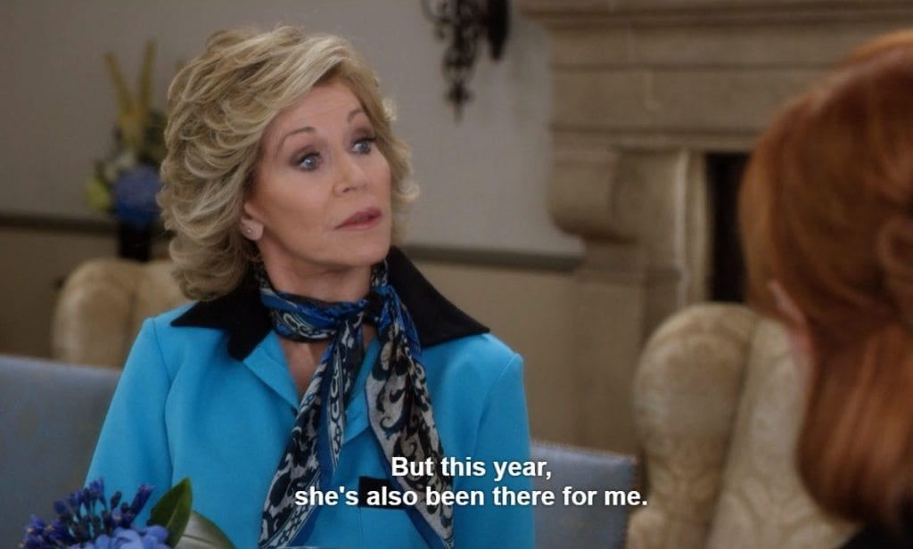 Here's hoping you've hidden the ayahuasca and got some vodka on ice, because season four of 'Grace and Frankie' has finally arrived on Netflix. In preparation for the almighty binge session we're all likely to enjoy with the new season, it's worth revisiting some of the relatable moments from Grace and Frankie.