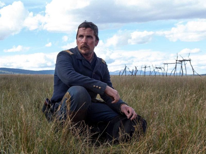 At the box office this weekend: Get caught up with an Army soldier's colonial conflict in 'Hostiles'; bag some loot with a man who's definitely not going to 'Have a Nice Day'; and discover the healing power of music in 'American Folk'.