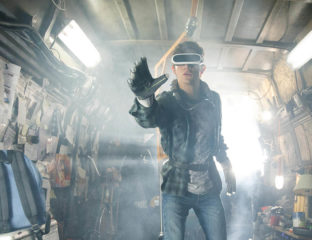 Steven Spielberg readies 'Ready Player One', the reference-crammed sci-fi pop culture flick that caught everybody's attention, for release.