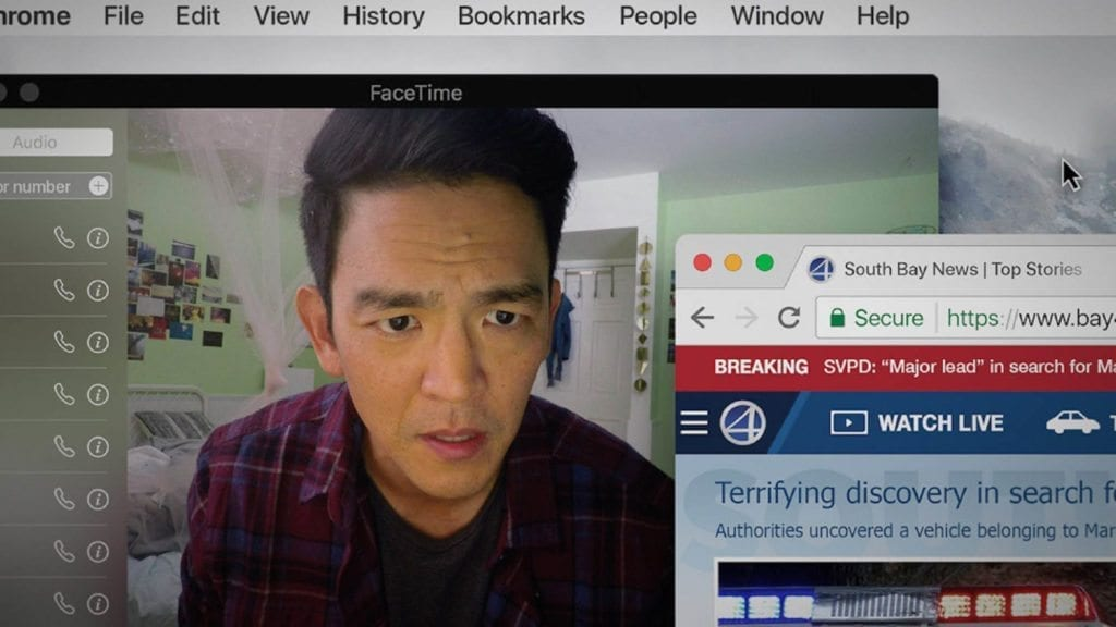 "Aneesh Chaganty's 'Search' utilizes the computer screen as a cinematic canvas in a manner that some critics have called ""gimmicky"", but as content becomes more driven to online streaming, such storytelling could soon be considered a cinematic convention – one that reflects our own digital habits."
