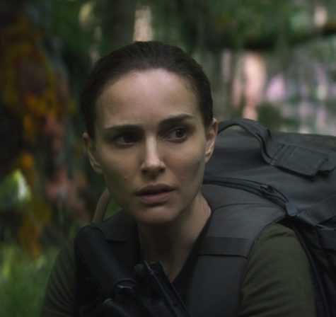 Natalie Portman stars as a biologist and former soldier in 'Annihilation' who embarks on a mission inside Area X - a sinister and mysterious phenomenon that is expanding across the American coastline.