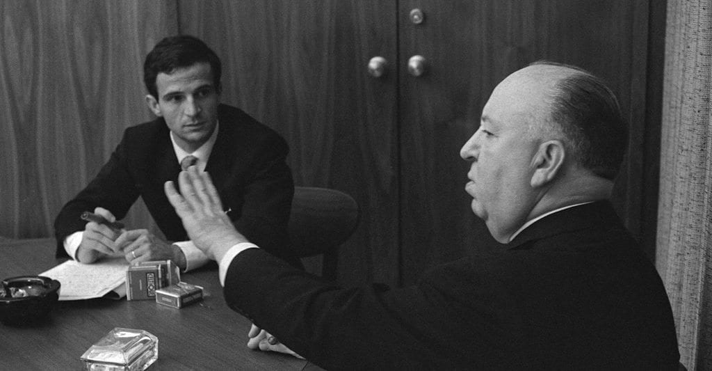 Alfred Hitchcock and François Truffaut