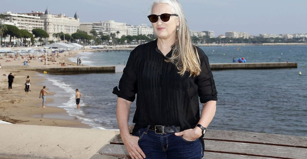 Jane Campion at Cannes Film Festival