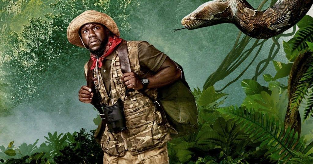 Kevin Hart in 'Jumanji: Welcome to the Jungle'