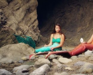"""'Life as a Mermaid' is the widely popular family fantasy series about two ambitious mermaid sisters who set out into the human world to prove merpeople & humans can coexist. """"Don't forget, it's merpeople, not mermaids!"""