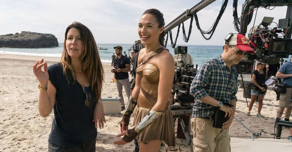 Behind the scenes of 'Wonder Woman': Patty Jenkins and Gal Gadot