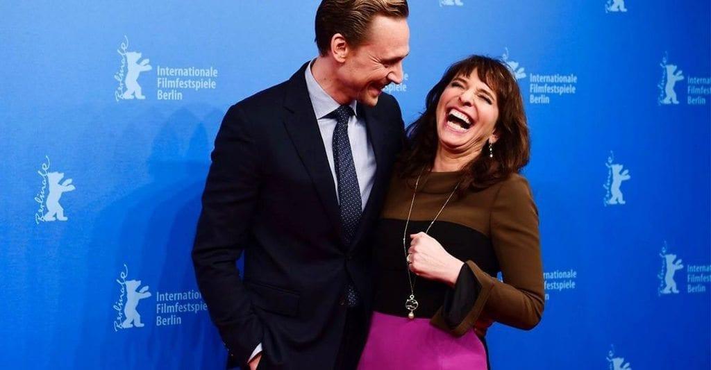 Susanne Bier and Tom Hiddleston