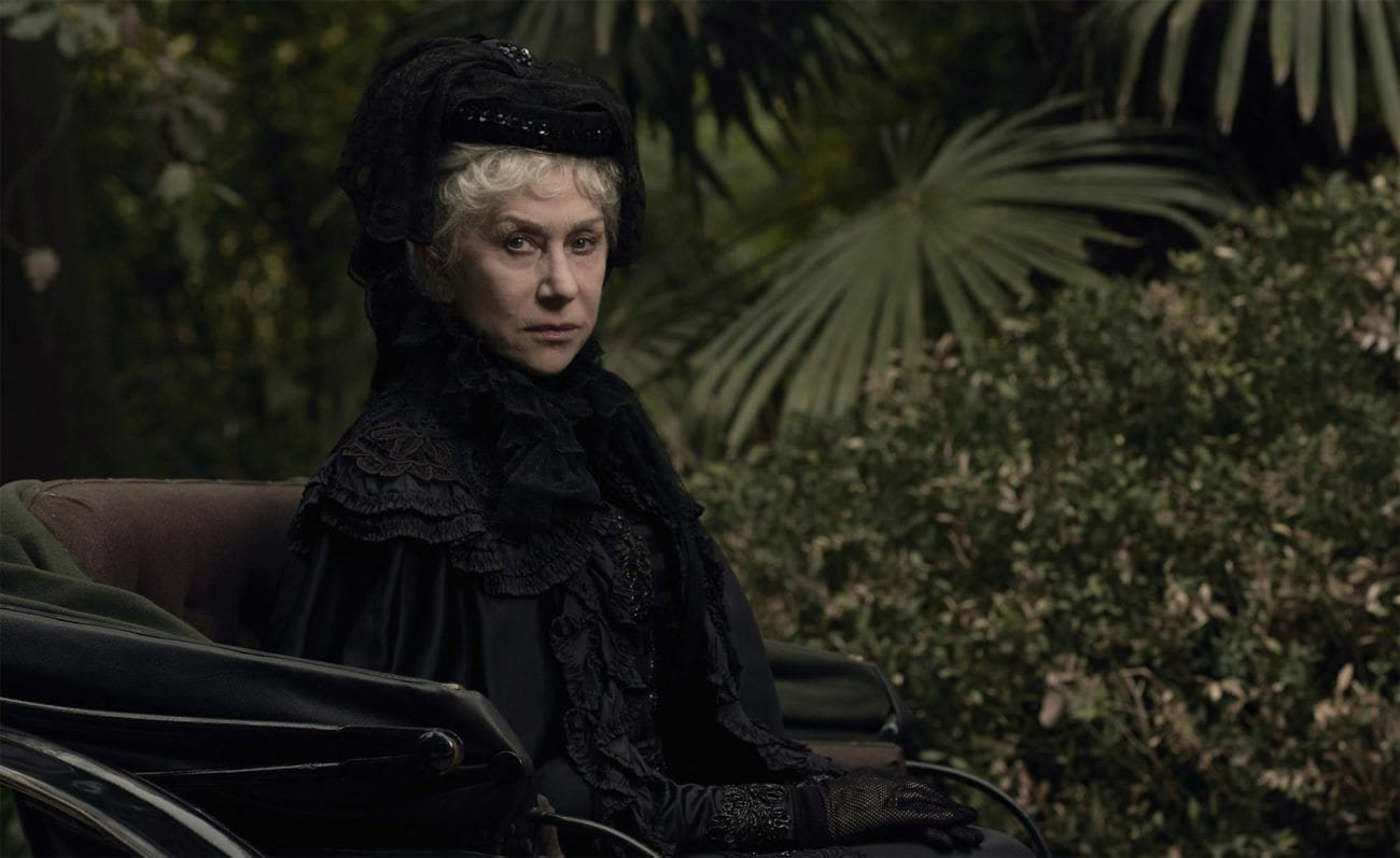 Inspired by true events, 'Winchester' follows the story of heiress Sarah Winchester in whose family home she holds a dark secret. Constructed in an incessant twenty-four hour a day, the house stands several stories tall with hundreds of rooms, the contents of which are too terrifying to reveal.