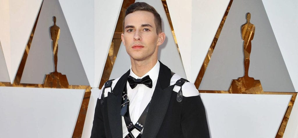 Adam Rippon at the 90th Academy Awards