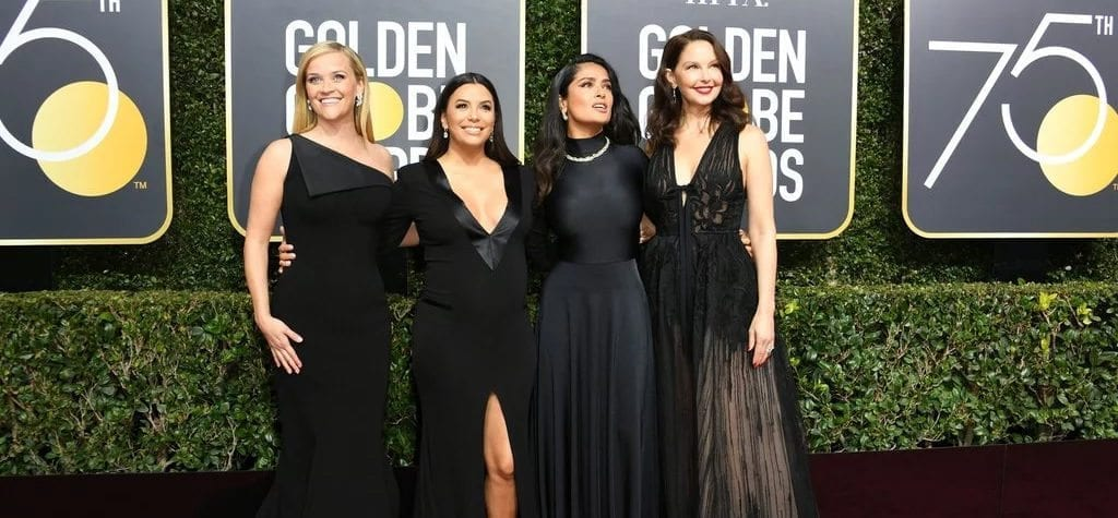 Black dress code at the Golden Globes