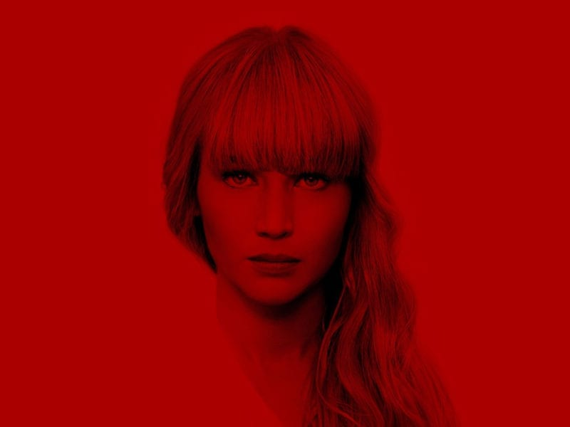 Follow a woman's transformation from ballerina to secret spy in 'Red Sparrow'; steer clear of a man set out for bloody revenge in 'Death Wish'; and watch the most sinister after party in New Year's Eve history in 'Midnighters'.