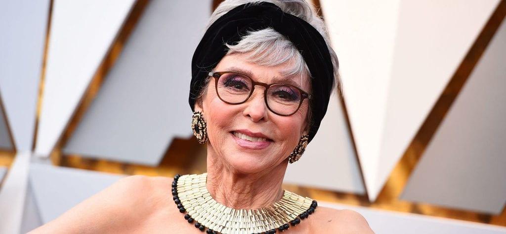 Rita Moreno at the 90th Academy Awards