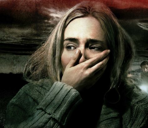Emily Blunt stars alongside her real-life husband John Krasinski in 'A Quiet Place'. You can't beat a great hook, and boy does this have one, following a family of four who must navigate their lives in silence due to mysterious creatures that hunt by sound. If they hear you, they hunt you!