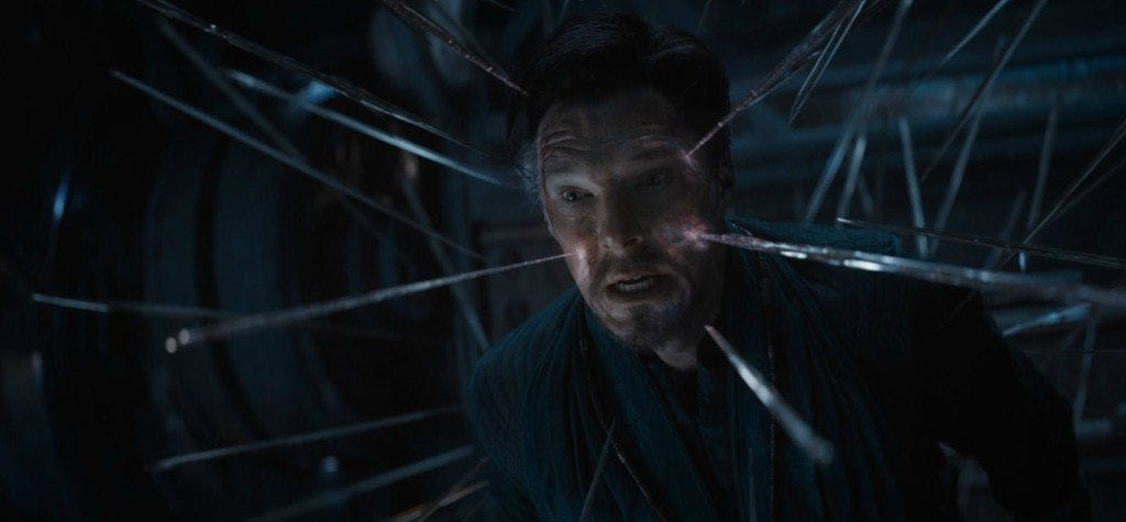 Benedict Cumberbatch as Doctor Strange in 'Infinity War'