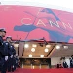 """Time to get those """"offended"""" caps off the shelf, folks, because the official 2018 Cannes Film Festival poster is out and no doubt it's about to cause an uproar of Biblical proportions."""