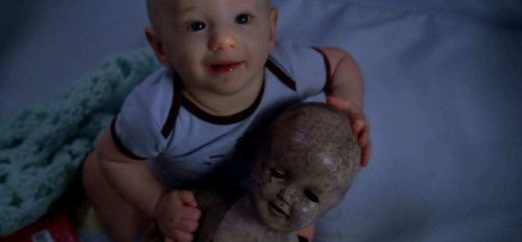 Creepy doll in 'True Blood'