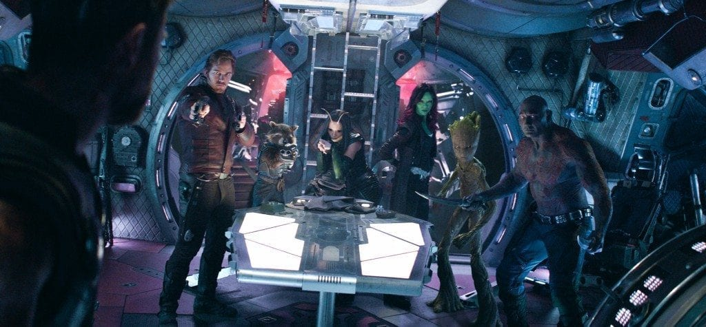 Guardians of the Galaxy in 'Infinity War'
