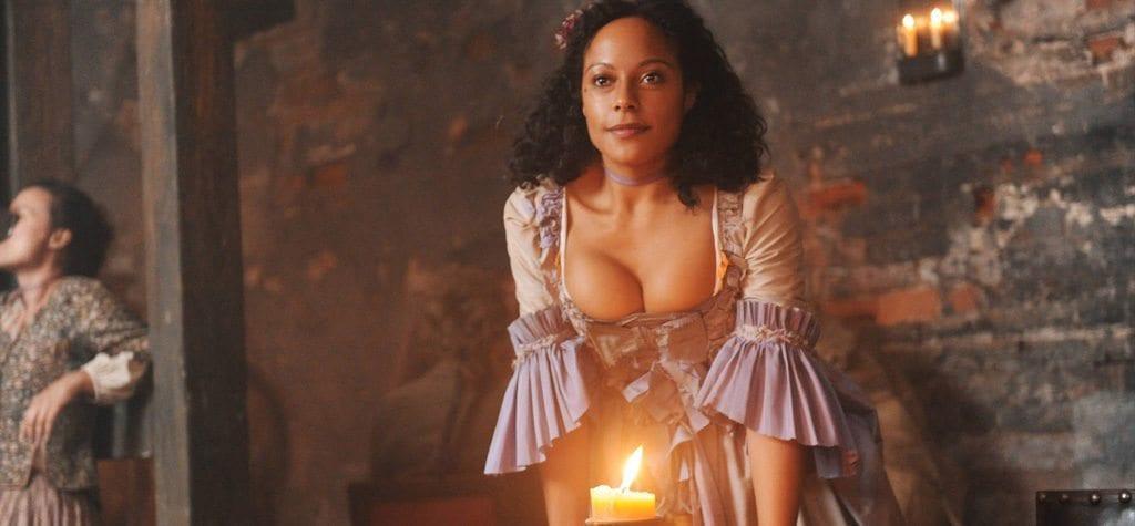 Rosalind Eleazar in Hulu's 'Harlots'