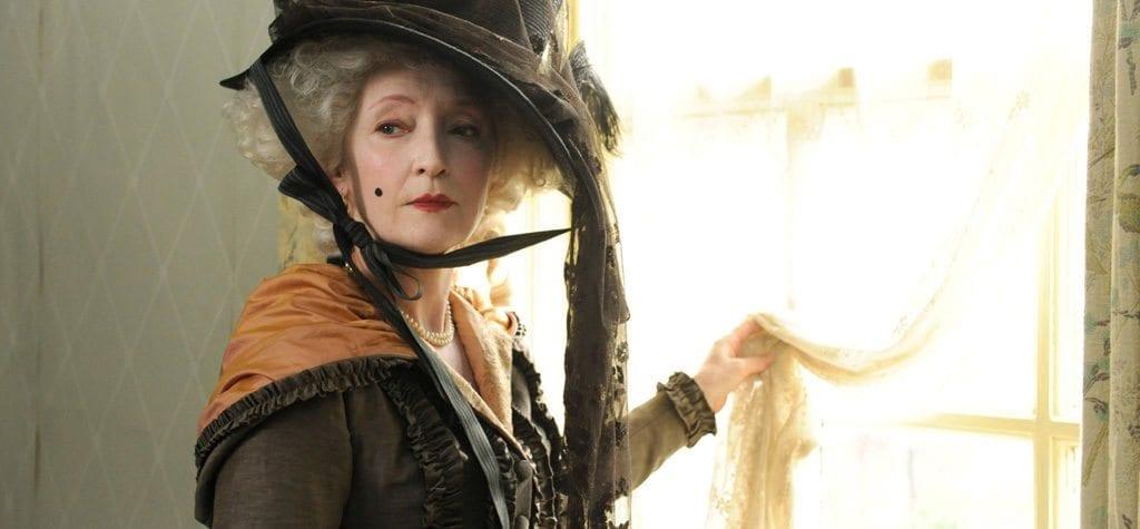 Lesley Manville in Hulu's 'Harlots'