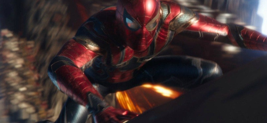 Iron Spider in 'Infinity War'