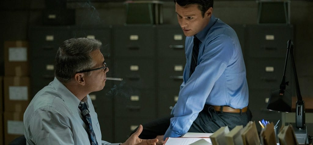 Jonathan Groff and Holt McCallany in Netflix's 'Mindhunter'
