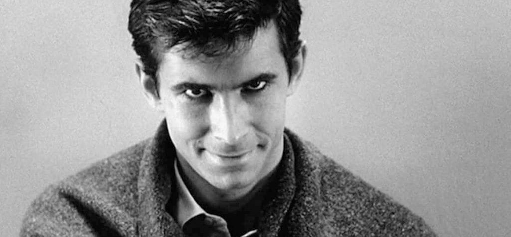 Anthony Perkins in 'Psycho'