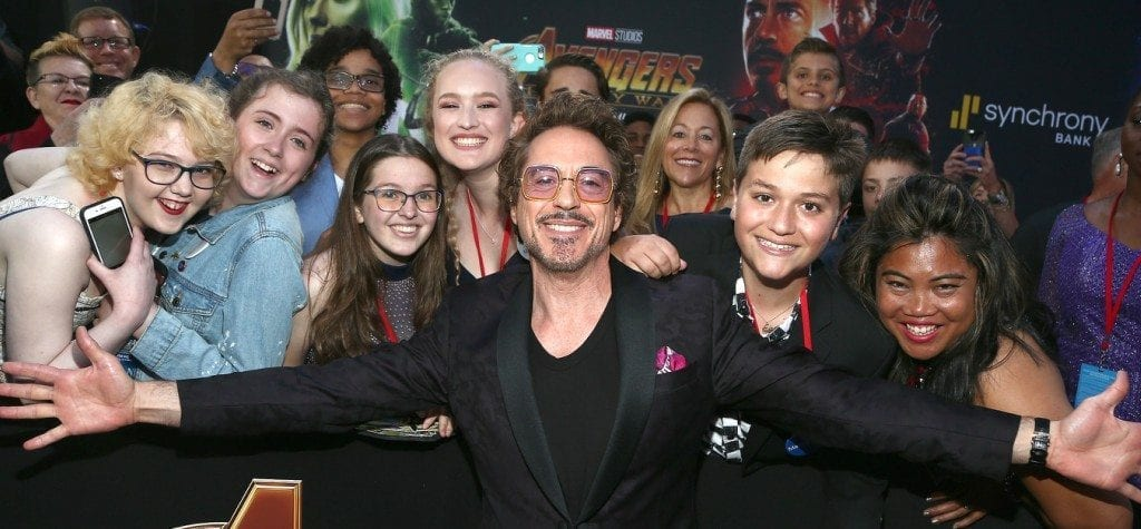 Robert Downey Jr. and Marvel fans