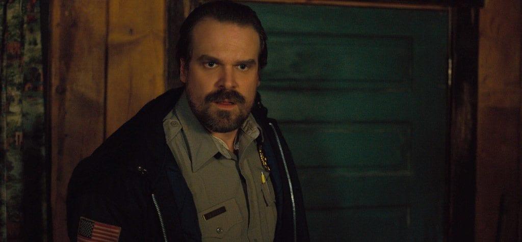 David Harbour as Hopper in Netflix's 'Stranger Things'