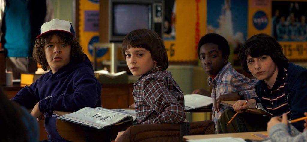 The cast of Netflix's 'Stranger Things'