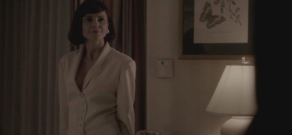 Keri Russell as Elizabeth Jennings as Ms. Lefler in FX's 'The Americans'