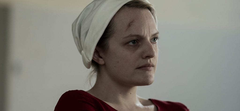 Elisabeth Moss in 'The Handmaid's Tale' S2