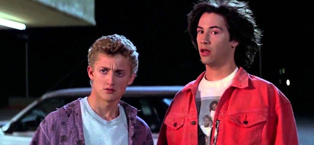 'Bill & Ted's Excellent Adventure'