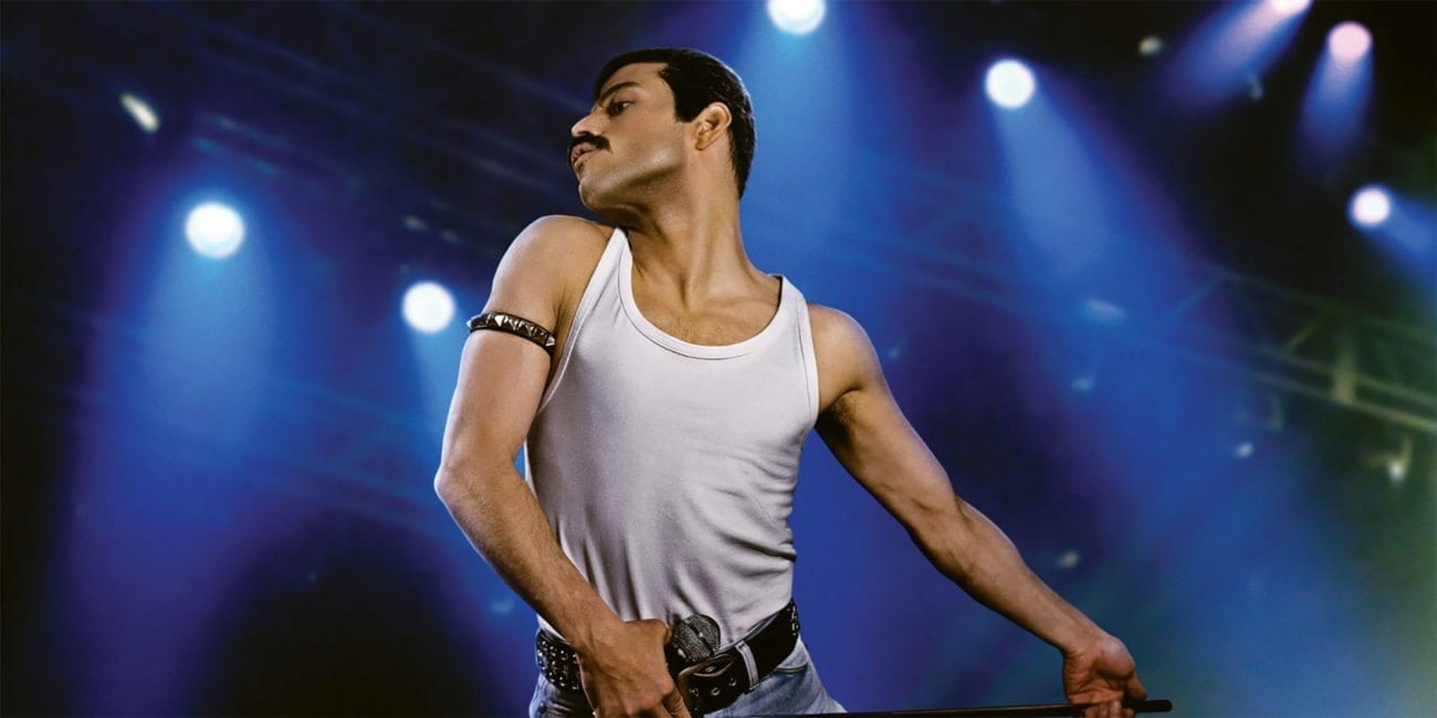 Open your eyes, look up to the skies, and see folks, because the first poster for director Dexter Fletcher's Freddie Mercury biopic 'Bohemian Rhapsody' has arrived and it looks epic. Set for a November release, the film chronicles the years leading up to Queen's legendary appearance at the Live Aid concert in 1985.
