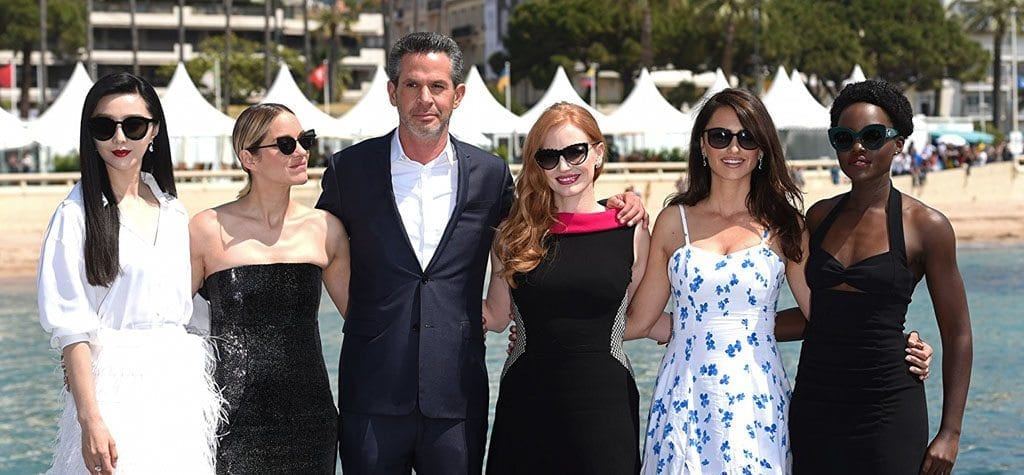 The cast of '355' at the 2018 Cannes Film Festival