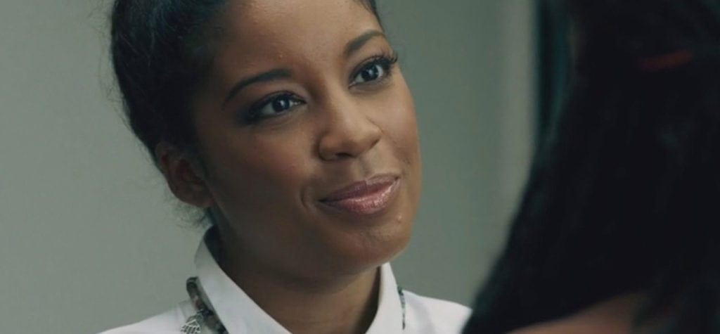 Reagan Gomez-Preston as Chantal Williams in 'Queen Sugar'